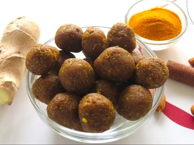 DIY Homemade Anti-Inflammatory Immune Boosting Balls   Bhavna's Kitchen