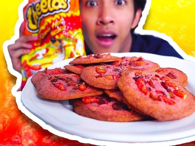 DIY HOT CHEETOS BACON CHOCOLATE CHIP COOKIE!!!