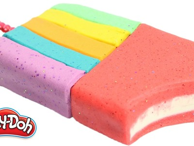 DIY How To Make Rainbow Learning Play Doh Ice Cream Modelling Clay