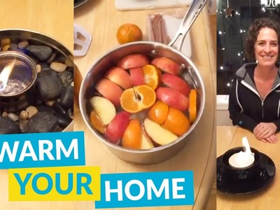 DIY Ideas To Warm Up Your Home!