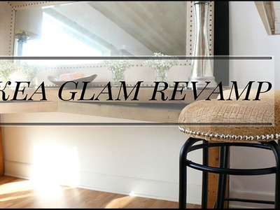 DIY IKEA GLAM BARSTOOLS+Design TIPS to make any room BETTER!