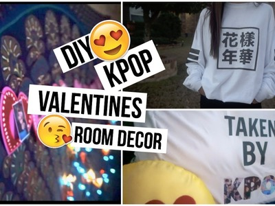 DIY KPOP VALENTINES ROOM DECOR.GIFT IDEAS (COLLAB)