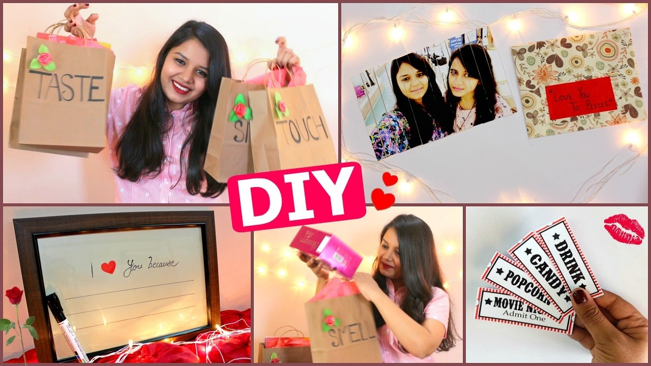 Diy Last Minute Valentines Day Gift Ideas For Him Her Pinterest
