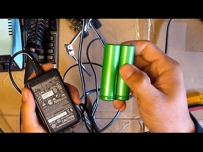 DIY: Make a 2S Li-ion (18650) 8.4V charger from a Camcorder.Camera charger