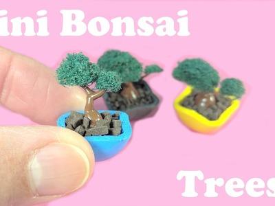 DIY Miniature Bonsai Trees - No Polymer Clay