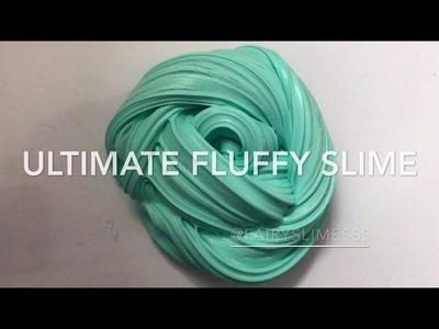 DIY NEW FLUFFY SLIME