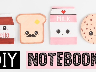 DIY NOTEBOOKS - Four Easy & Cute Ideas!