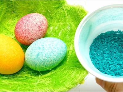 DIY - Rice Easter Egg Coloring - Shake It