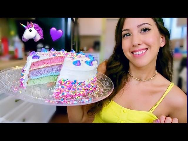 DIY UNICORN CAKE!