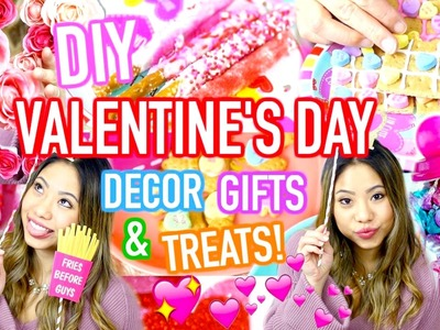 DIY Valentine's Day GIFTS and TREATS You Need To Try! 2017