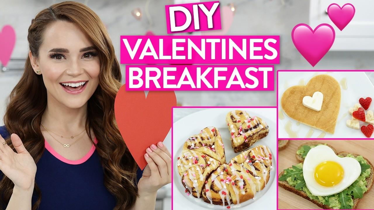 DIY VALENTINES DAY BREAKFAST IDEAS!