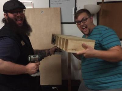 Does it Pinterest? DIY Drill Organizer