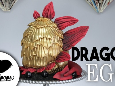 Dragon Egg Cake| DIY & How To l Inspired by Game of Thrones | Cake Ideas