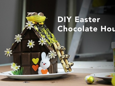 Easter Chocolate House DIY  #COOLstars  #TelekomMk