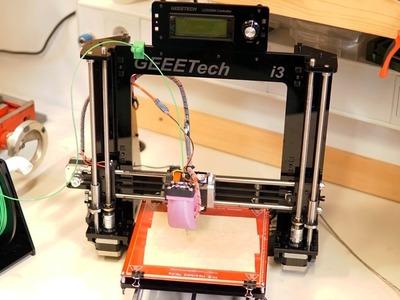 Geeetech Prusa I3 pro B 3D Printer DIY kit assembly [time laps & photo]