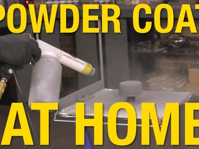 Get Professional Looking Powder Coated Parts At Home - Eastwood DIY Powder Coating System