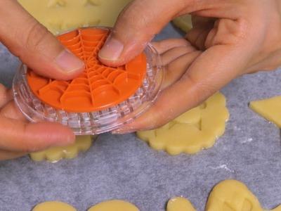 Happy Halloween DIY Stamp Cookies