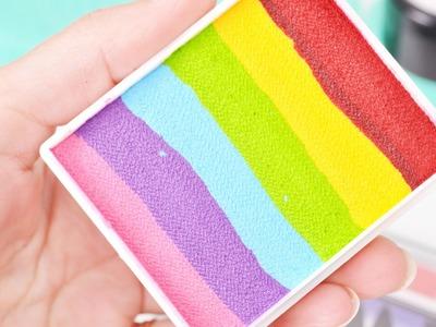 How to create custom one-strokes and rainbow cakes