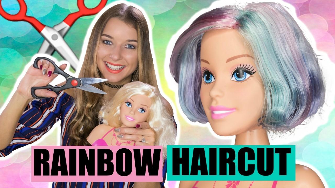 HOW TO CUT BARBIE DOLL HAIR!