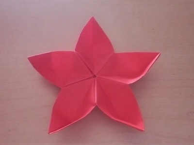 How to Fold DIY  Origami Flower