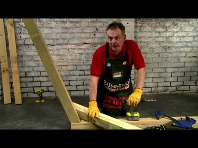 How To Make A D.I.Y. Hammock Stand - D.I.Y. At Bunnings