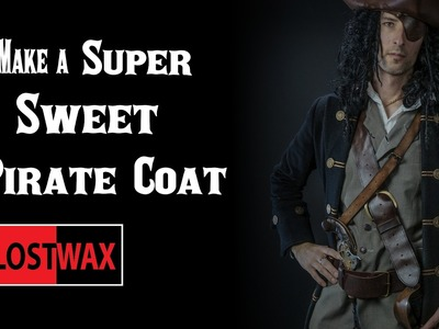 How to make a Pirate Coat. DIY frock coat.