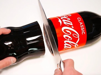 How To Make GIANT 1.75 LITER Gummy Coca Cola Bottle!!! DIY Fun & Easy Jelly Dessert!