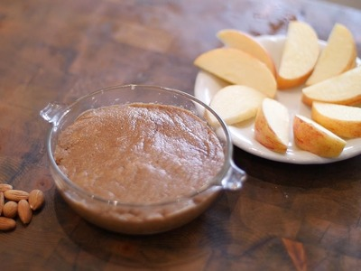 How to Make Homemade DIY ALMOND BUTTER!