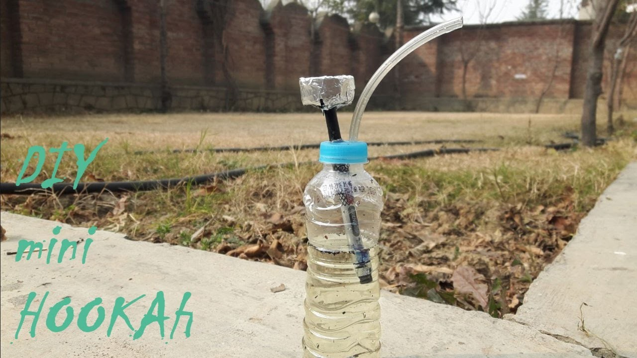How to make Hookah at home DIY