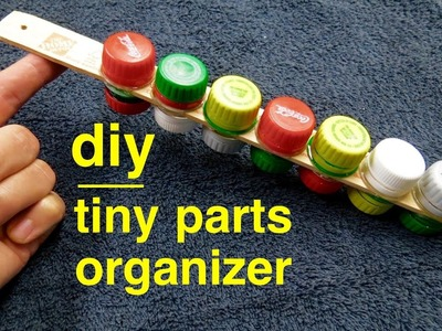 How to make ● Tiny Seed Bead Organizer from Pop Bottles