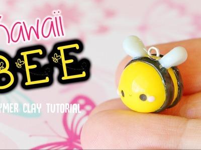 Kawaii Bee│Polymer Clay Tutorial
