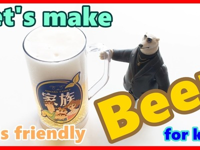 Kid friendly beer DIY How to make Shin chan & Zootopia