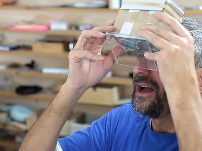 Make Your Own Augmented Reality Viewer DIY