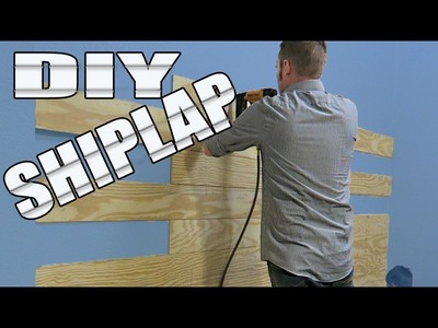 Our next DIY Project: Shiplap