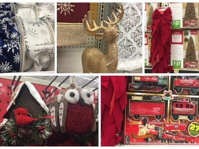 SHOP WITH  ME | Walmart Christmas Decor & Thanksgiving Treats