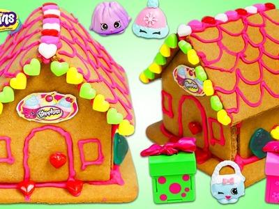SHOPKINS Sweet Shop Gingerbread House Fun & Easy DIY Kit!
