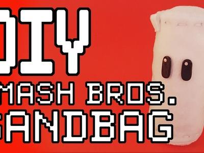 Super Smash Bros: Sandbag Plush DIY Tutorial