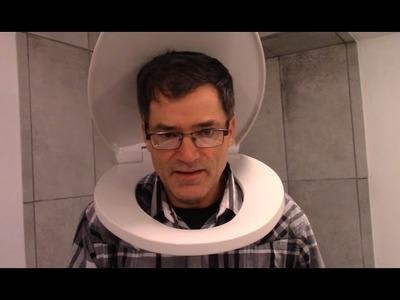The Macerating Toilet Basement Bathroom COMPLETED - DIY Duke