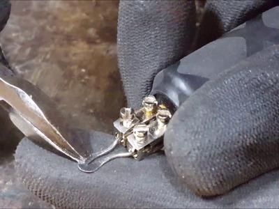 우드버닝용 스푼펜팁 만들기 DIY, Pyrography (woodburning) tool : How to make a shader spoon - YEBILL예빌