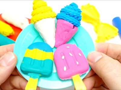 Trolltech Ice Cream Color Clay Series  - DIY Toys