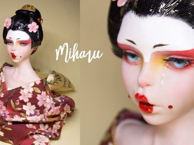 Updated 'MIHARU' Geisha Sculpture | Polymer Clay Tutorial