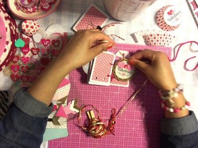 "#13  Valentine's Day Series 2017 - DIY Love Book "" 14 Reasons Why I Love U """