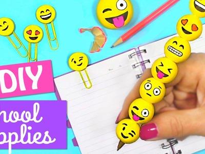 3 DIY EMOJI SCHOOL SUPPLIES BACK TO SCHOOL - INNOVA CRAFTS