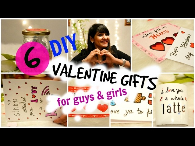 6 Affordable DIY Valentine's Day Gifts For Husband | Boyfriend - Oh So Homemade