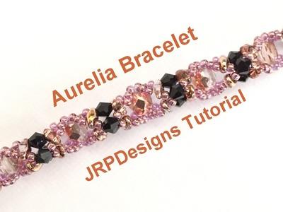 Aurelia Bracelet - Beginner Tutorial  Left hand