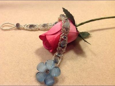 Delicate Sparkle Bracelet Tutorial