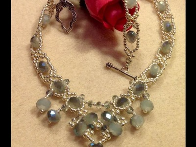 Delicate Sparkles Necklace tutorial Revisited or part 2