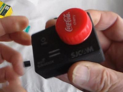 DIY  Budget Action Camera Lens Cap - Bob Does a Blue Peter