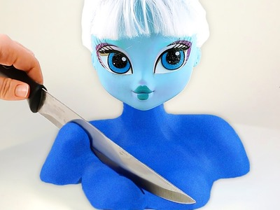 DIY Colors Kinetic Sand Frozen Elsa Disney Princess Kinetic Sand Mighty Toys
