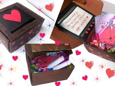DIY: Cute Valentine's Day Box Idea - for Him & Her ❤